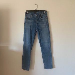 Rocket crop high rise skinny jeans size 26